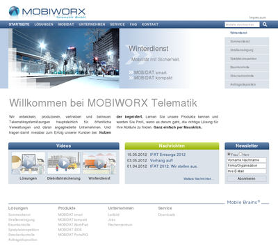 Screenshot-Website