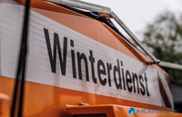 vehicle with label winter maintenance
