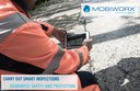 Digital data recording in road maintenance services